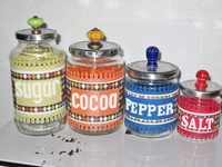Recycled Jars for the Kitchen