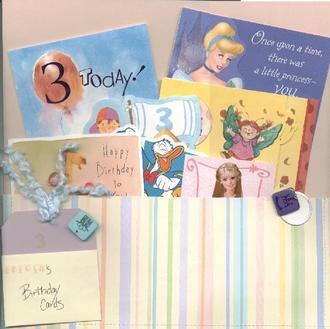 Birthday Card Holder