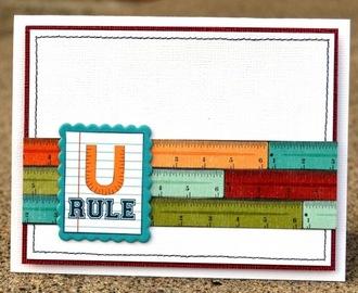 u rule card