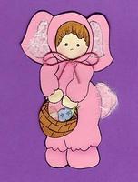 Bunny Girl Paper Piecing