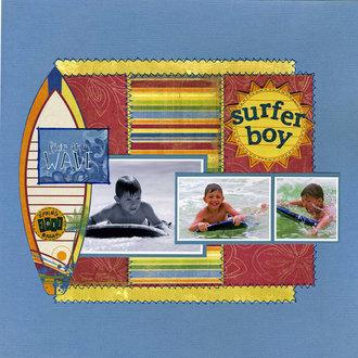 Surfer Boy 2011 (Jan Pinterest Challenge)