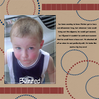 Buzzed * Digital Scrapbook Memories Col. One *
