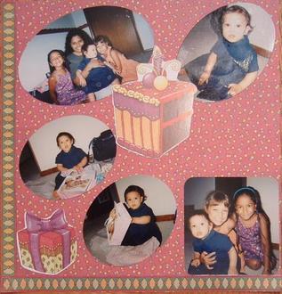 Birthday w/cousin