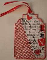 Valentine's Day LOVE tag