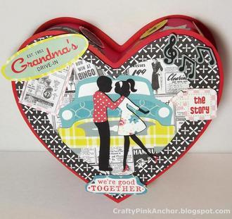 50's Love Story - Valentine Gift Box