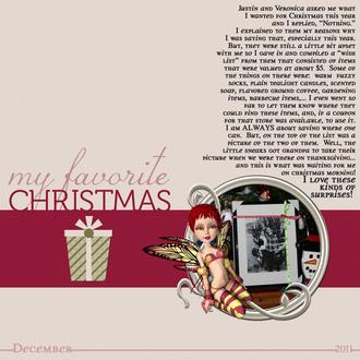 My Favorite Gift - 2011