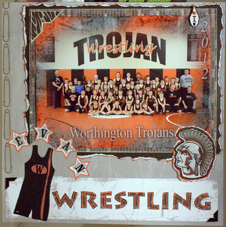 Trojans Wrestling