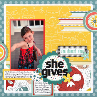 she gives