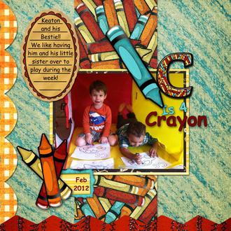 C is 4 Crayon!