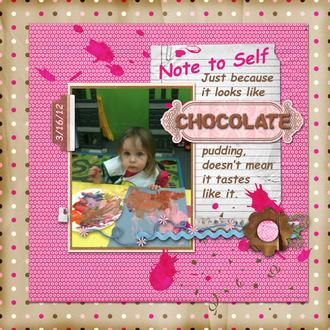 Chocolate Pudding?