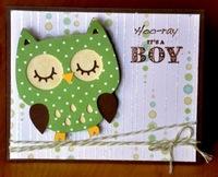 Hoo-ray its a boy card