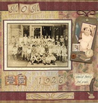 Mom: 2nd Grade 1926