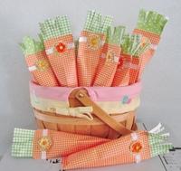 Paper Carrots