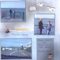 Sweetpeas' layouts of Mindy's pictures