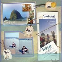 Sun, Sand, Sea (As seen in Stamping, Stationery and Scrapbooking)
