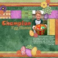 Champion Egg Hunter