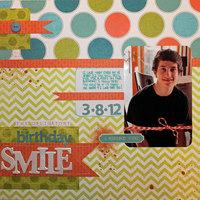 The Obligatory Birthday Smile