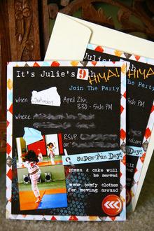 Hybrid Birthday Invite