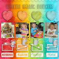 Colorful Maddie Moments