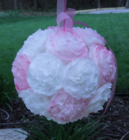 Cherry bits how to tutorial flower pomander ball how to tutorial flower pomander ball mightylinksfo Choice Image