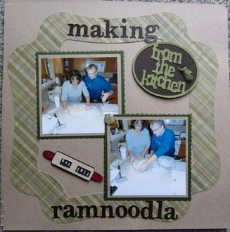 Making Ramnoodla