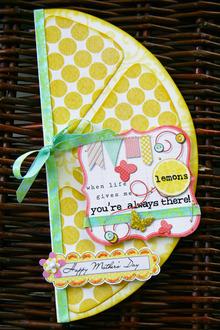 *Hybrid * Mother's Day Card (lemons)