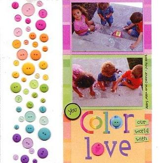 Color our world with LOVE