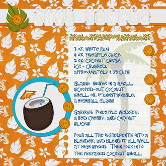 Recipe:  Pina Colada