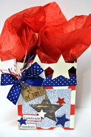 celebrate freedom star bag