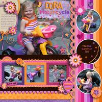 Dora Motorcycle
