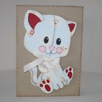 New baby - Kitten card