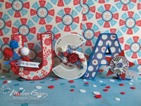 3D USA Letters