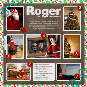 Roger the Christmas Elf - Page 1
