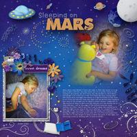 Sleeping on Mars