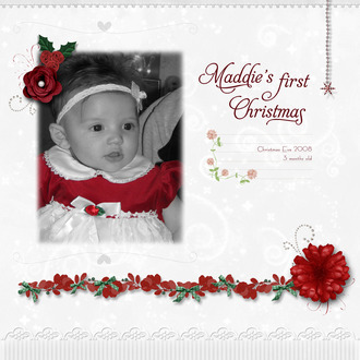Maddie's First Christmas