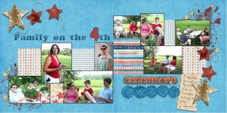Family on the 4th