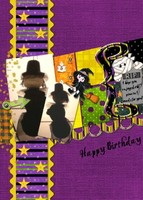 Halloween 40th Birthday Pinata