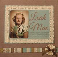 Leah Mae: 1946
