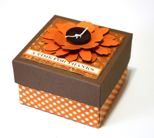 How to make gift boxes with a scoring board a cherry on top using the scor pal scoring board you can easily make a box like this with your favorite patterned paper or card stock easily change the patterned papers negle Images