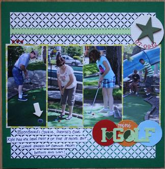 "I ""heart"" mini golf"