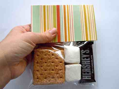 s'more kit by Laura Williams, for www.acherryontop.com