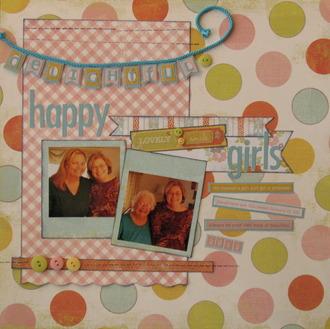 Delightful Happy Girls