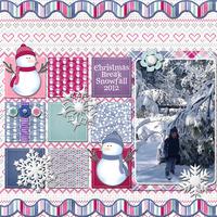 Christmas Snowfall 2012