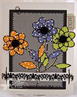 Colorful Florals {Memory Box}