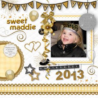 Happy New Year Sweet Maddie
