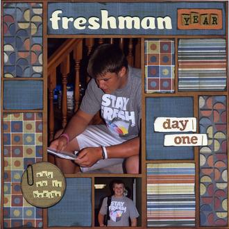 Freshman Year Day One (Jan 2013 Rewind Challenge)