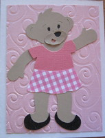 """Ted"" Bear Bday card"