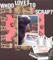 Whoo Loves To scrap