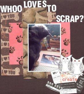 Whoo Loves To scrap