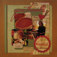 Cook with passion - give thanks